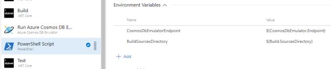 Set EnvVariables For PowerShell Script